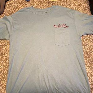 Light blue Salt Life shirt new with tags!